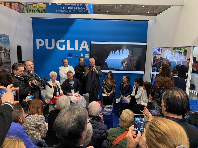 "Puglia in the showcase, ""Il Salento santo & trasgressivo"" at the International Tourism Exchange of Milan"