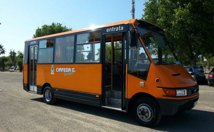 Shuttle service to Santa Maria al Bagno and Santa Caterina 2019.