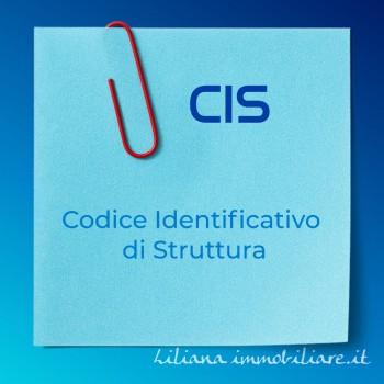 CIS codice identificativo struttura