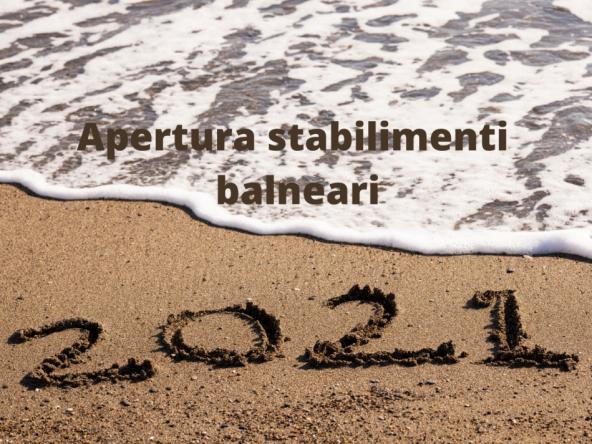 Apertura stabilimenti balneari 2021